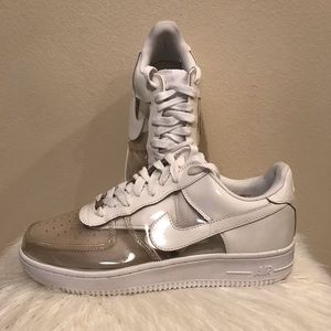 Other - Nike Clear Air Force 1 Low Top Shoes 'Invisible'